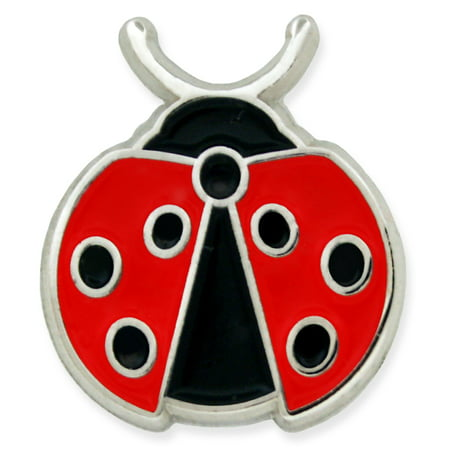 Cute Lady Bug Brooch Insect Animal Trendy Small Enamel Lapel Pin