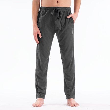 Reebok Men's Knit Lounge Pants Cotton Silk Knit Pants
