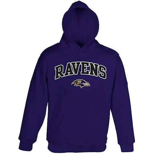 NFL Boys' Baltimore Ravens Fleece Hoodie