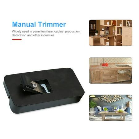 Edge Trimmer Manual PVC Banding Trimming Aluminium Alloy Woodworking Tools - image 6 de 10