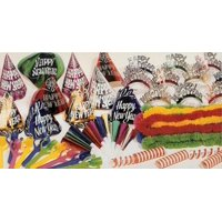 Club Pack of 40 Yellow and Green New Year Celebration Party Accessory Kit