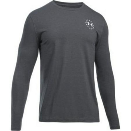 09797b8f Under Armour - under armour 1299259 men's ua freedom flag tee long sleeve  shirt size s-3xl - Walmart.com