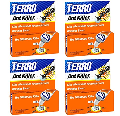 4-Pack TERRO 1 oz Liquid Ant Killer ll