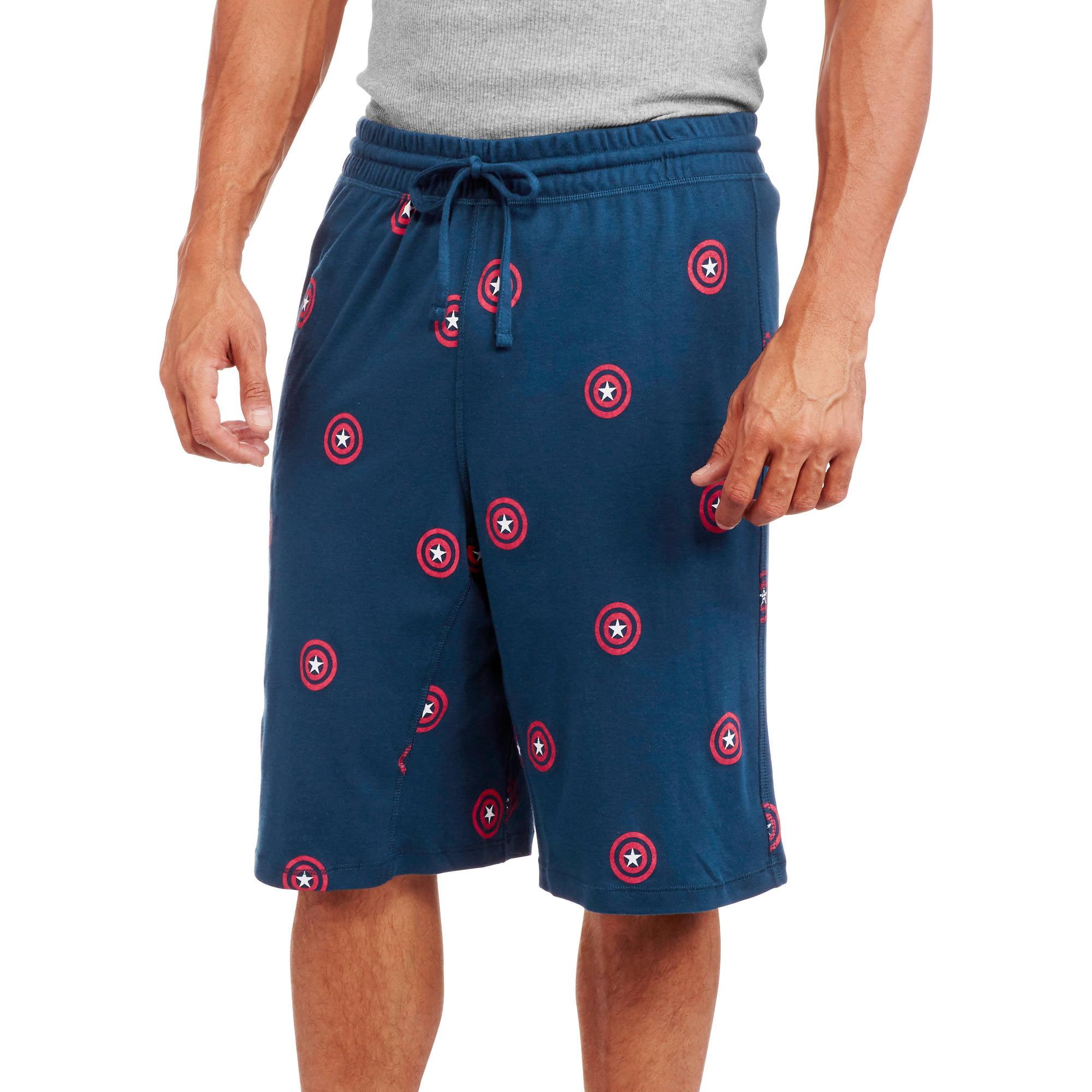 Captain America Men's Sleep Shorts