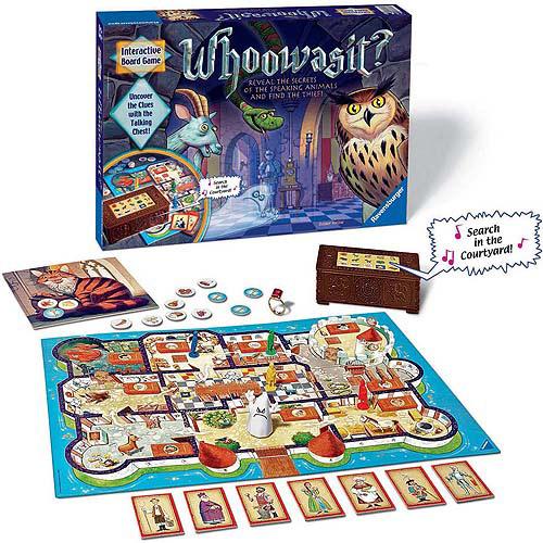 Ravensburger Whoowasit? Electronic Board Game