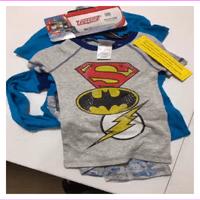 KOMAR Kids Boys 4 Piece Pajama Sleepwear Set  3T/MINCRAFT