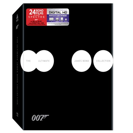 The Ultimate James Bond Collection (Blu-ray + Digital HD) Charmayne James Collection