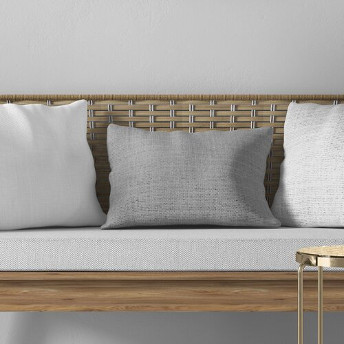August Grove Marya Cotton Lumbar Pillow