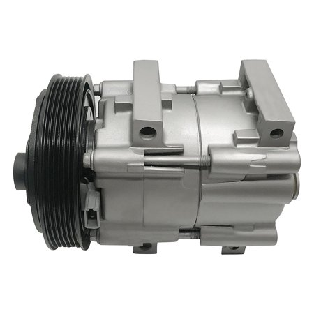 RYC Remanufactured AC Compressor and A/C Clutch EG163 Fits 2000, 2001, 2002 Ford Focus 2.0L