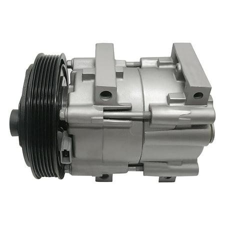 RYC Remanufactured AC Compressor and A/C Clutch EG163 Fits 2000, 2001, 2002 Ford Focus 2.0L