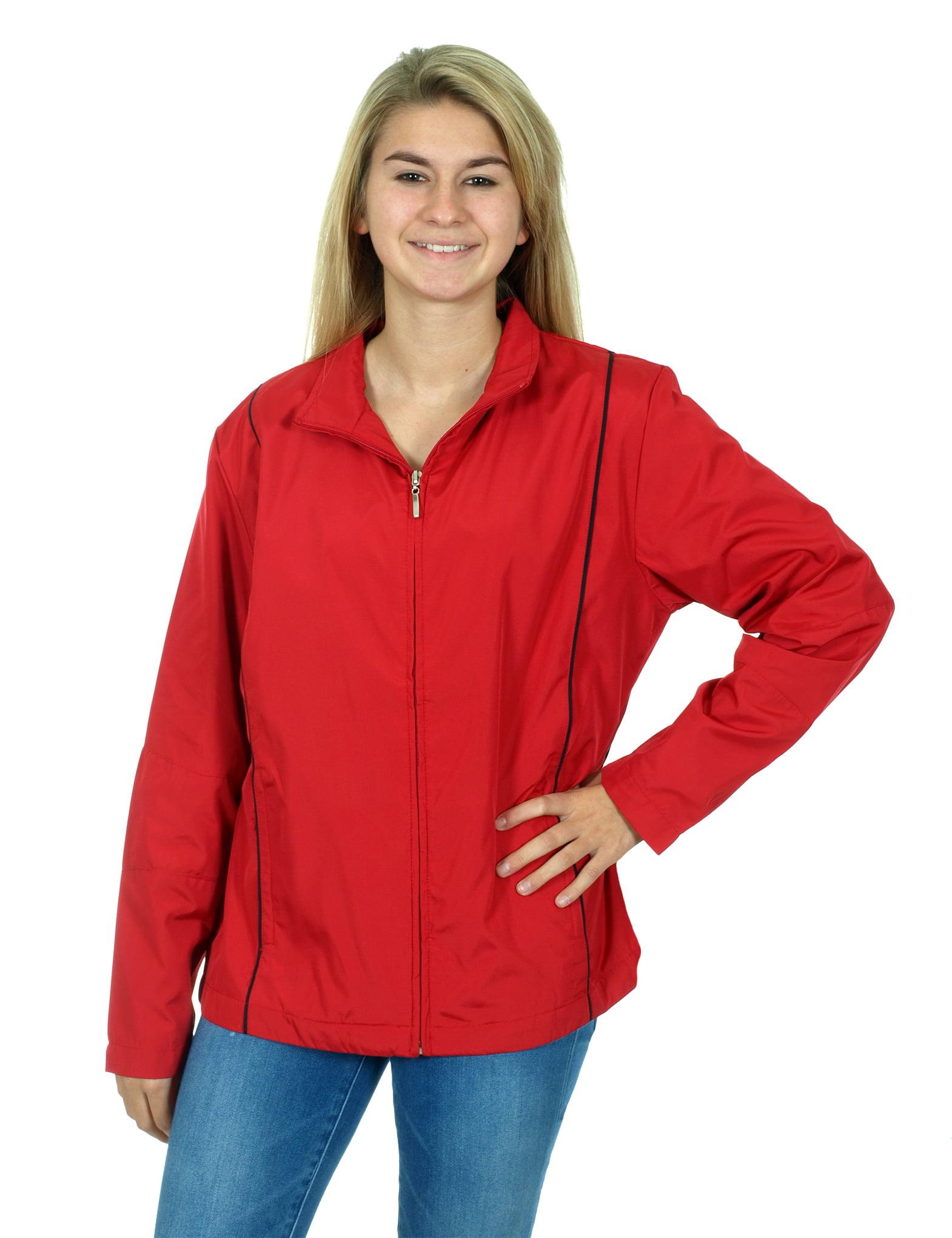 Tri-Mountain Women's Lightweight Zip Up Hiking Jacket