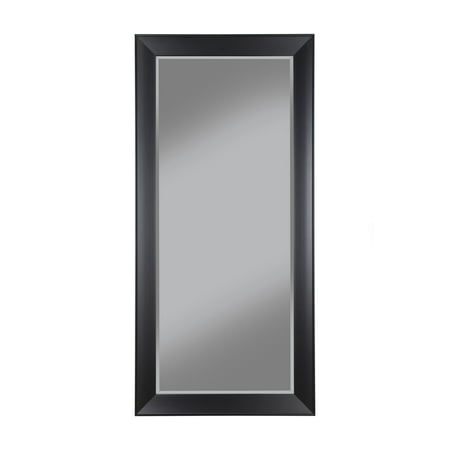 Contemporary Mirror Collection (Sandberg Furniture Contemporary Black Full Length 65