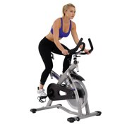 ASUNA Sabre Cycle Exercise Bike Magnetic Belt Drive Commercial Indoor Cycling Bike by Sunny Health & Fitness