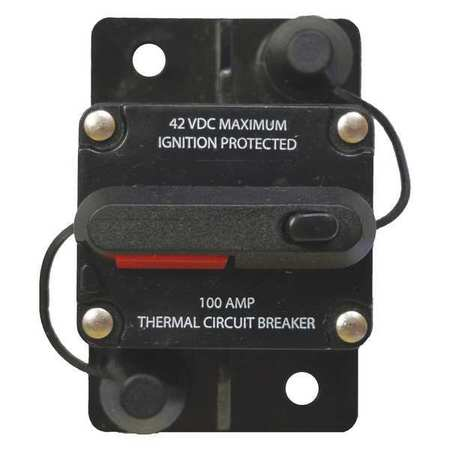 BATTERY DOCTOR Automotive Circuit Breaker,100A at 12VD 31202
