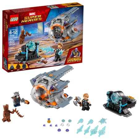 LEGO Super Heroes Marvel Thor's Weapon Quest (Best Lego Sets For 8 Year Old Boy)