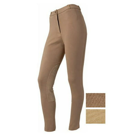 EquiRoyal Ladies Suede Knee Breeches - 24 Regular