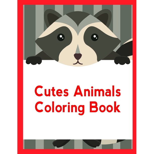 Animal Planet Cutes Animals Coloring Book Coloring Pages Christmas Book For Kids And Children Series 5 Paperback Walmart Com Walmart Com