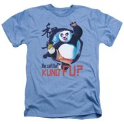 Kung Fu Panda Kung Fu Mens Heather Shirt