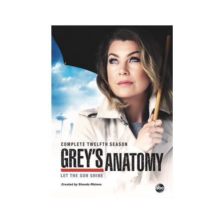 Greys Anatomy  Complete Twelfth Season  Dvd