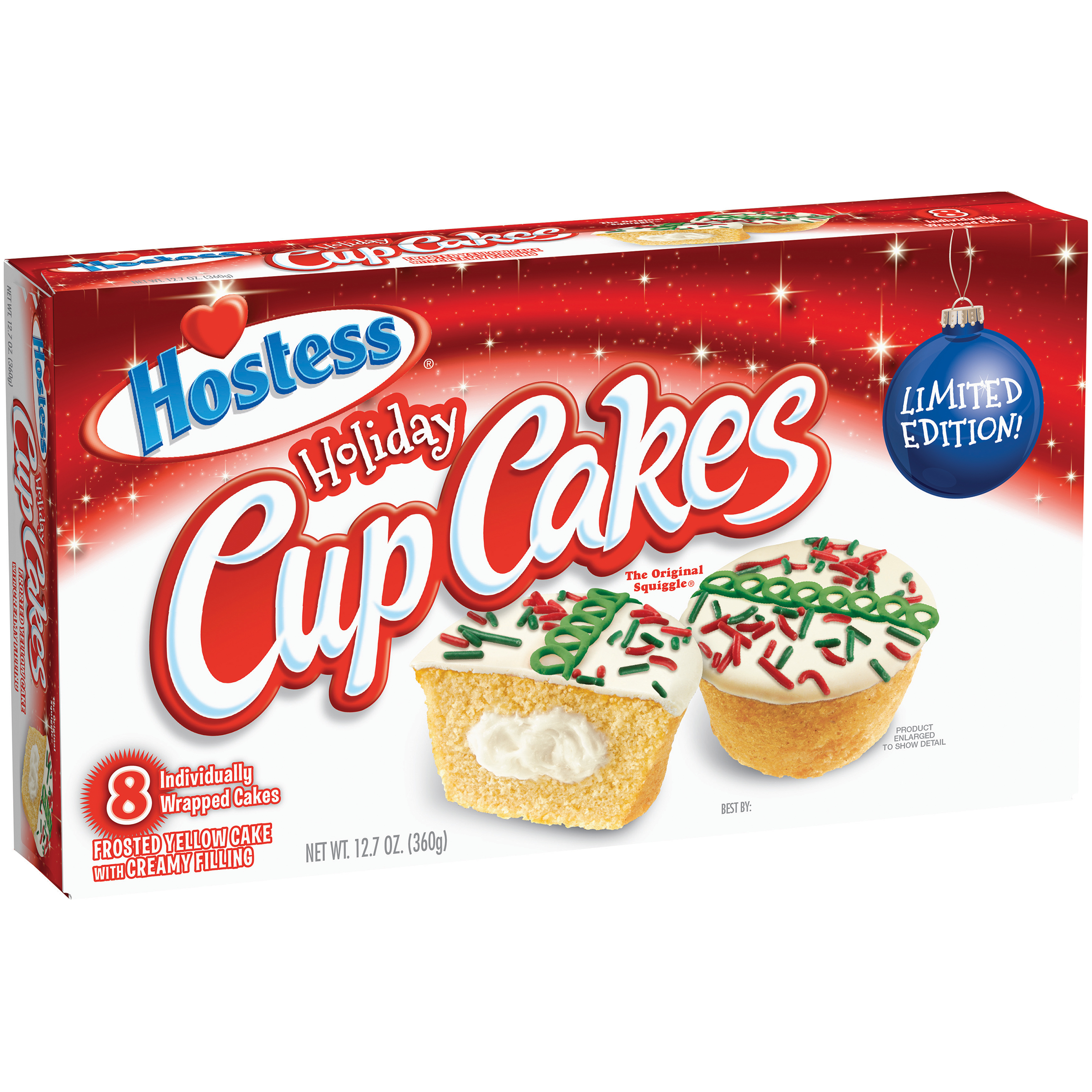 Hostess® Holiday Cup Cakes 12.7 oz. Box