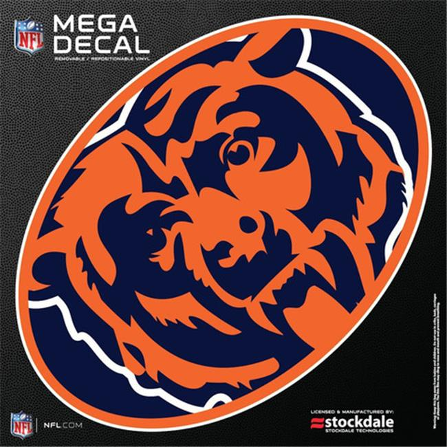 Chicago Bears 12''x12'' Mega Decal