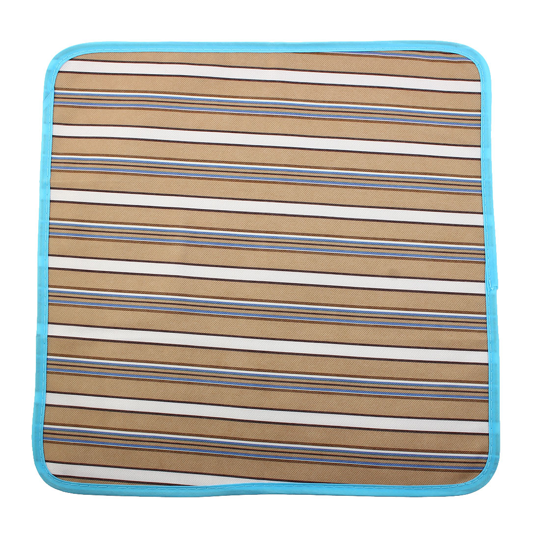 Travel Stripe Pattern Moisture-proof Picnic Blanket Camping Foldable Beach Pad