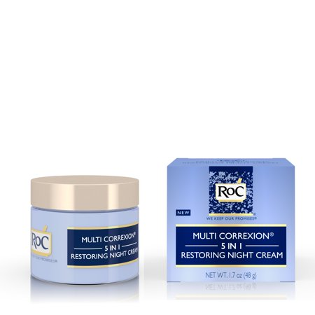 RoC Multi Correxion 5 in 1 Anti-Aging Facial Night Cream, 1.7 oz