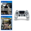 Call of Duty 2-Game Bundle + DualShock 4 Wireless Controller for PS4