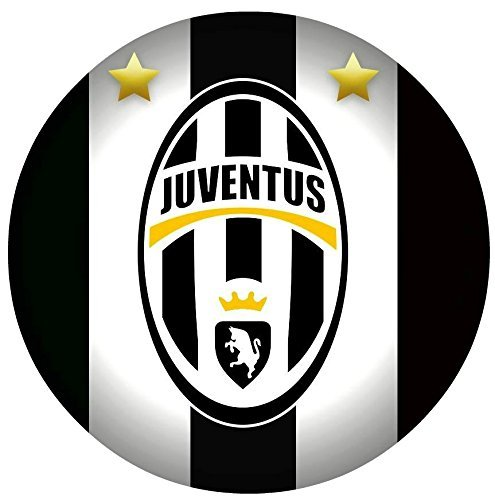 "Juventus Soccer Football Edible Image Photo Cake Topper Sheet Personalized Custom Customized Birthday Party - 8"" ROUND - 75188"