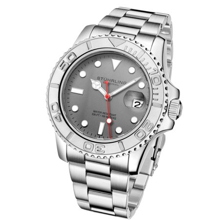 - ExecuDiver Series : 3967.1 Miyota Japanese Quartz Dive Watch With Boardroom to Beach Design Date & Rotating Bezel 10 ATM