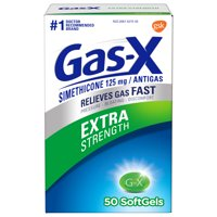 Gas-X Extra Strength Softgel for Fast Gas Relief, 50 count