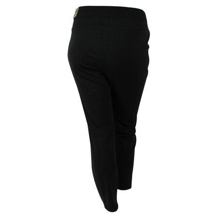 fd30fcde55b Alfani - Alfani Women s Faux Leather Snake Skin Embossed Pants - Walmart.com
