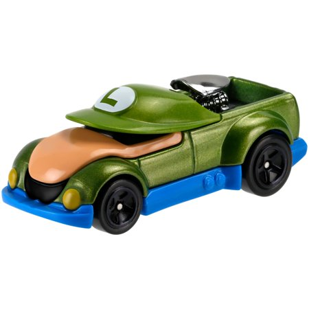 hot wheels super mario bros luigi character car. Black Bedroom Furniture Sets. Home Design Ideas