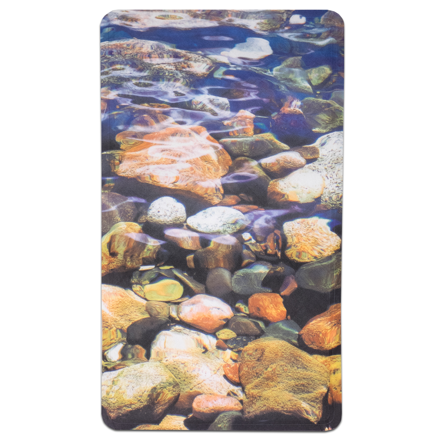 "Brooke Fabric Printed Bath Mat (16""x27"")"