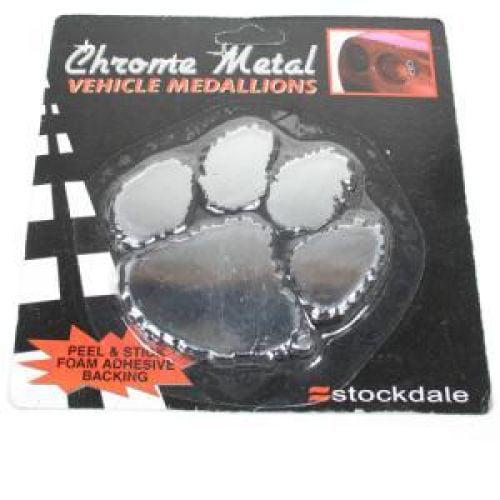 Clemson Tigers Chrome Auto Emblem