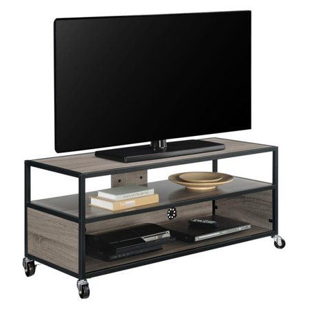 Altra Furniture Mason Ridge Mobile Tv Stand   Sonoma Oak