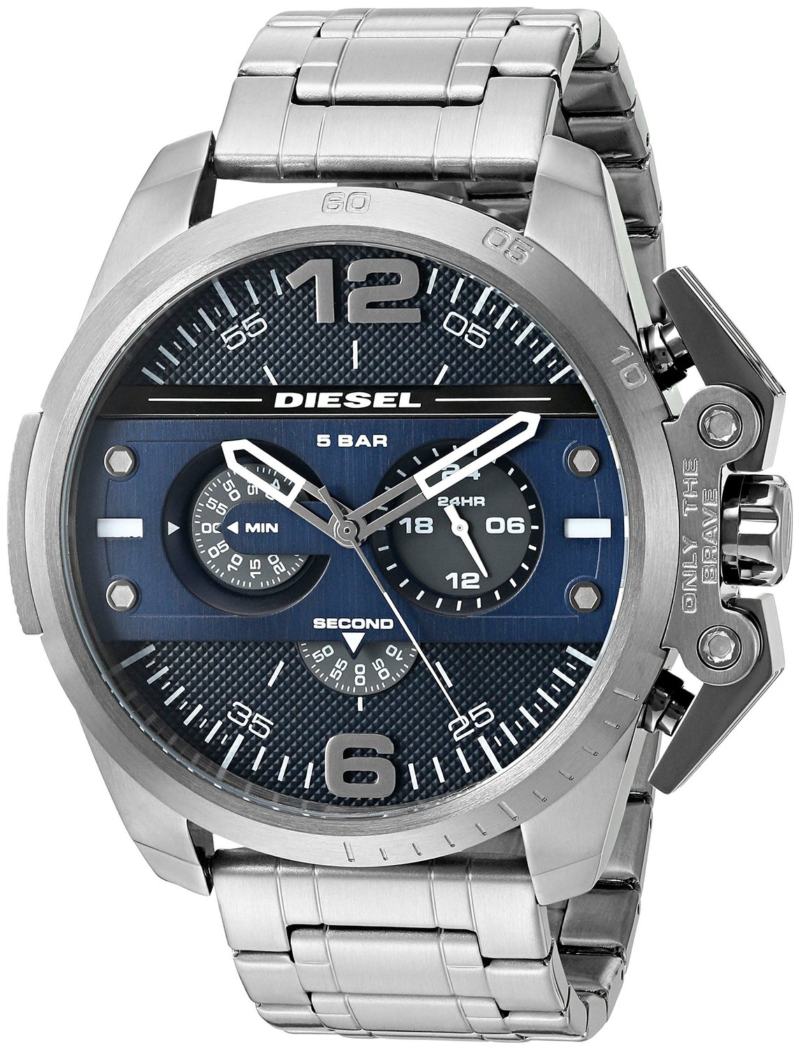 ronside Gunmetal Chrongraph Mens Watch DZ4398