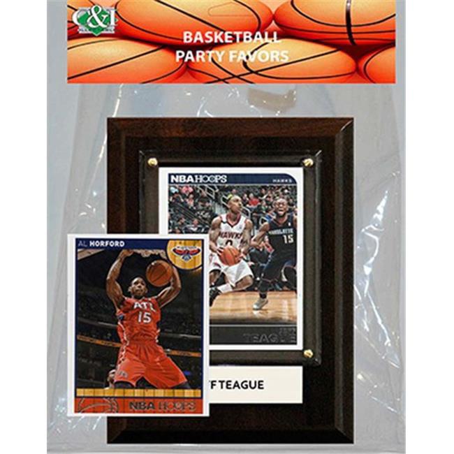 Candlcollectables 46LBHAWKS NBA Atlanta Hawks Party Favor With 4 x 6 Plaque