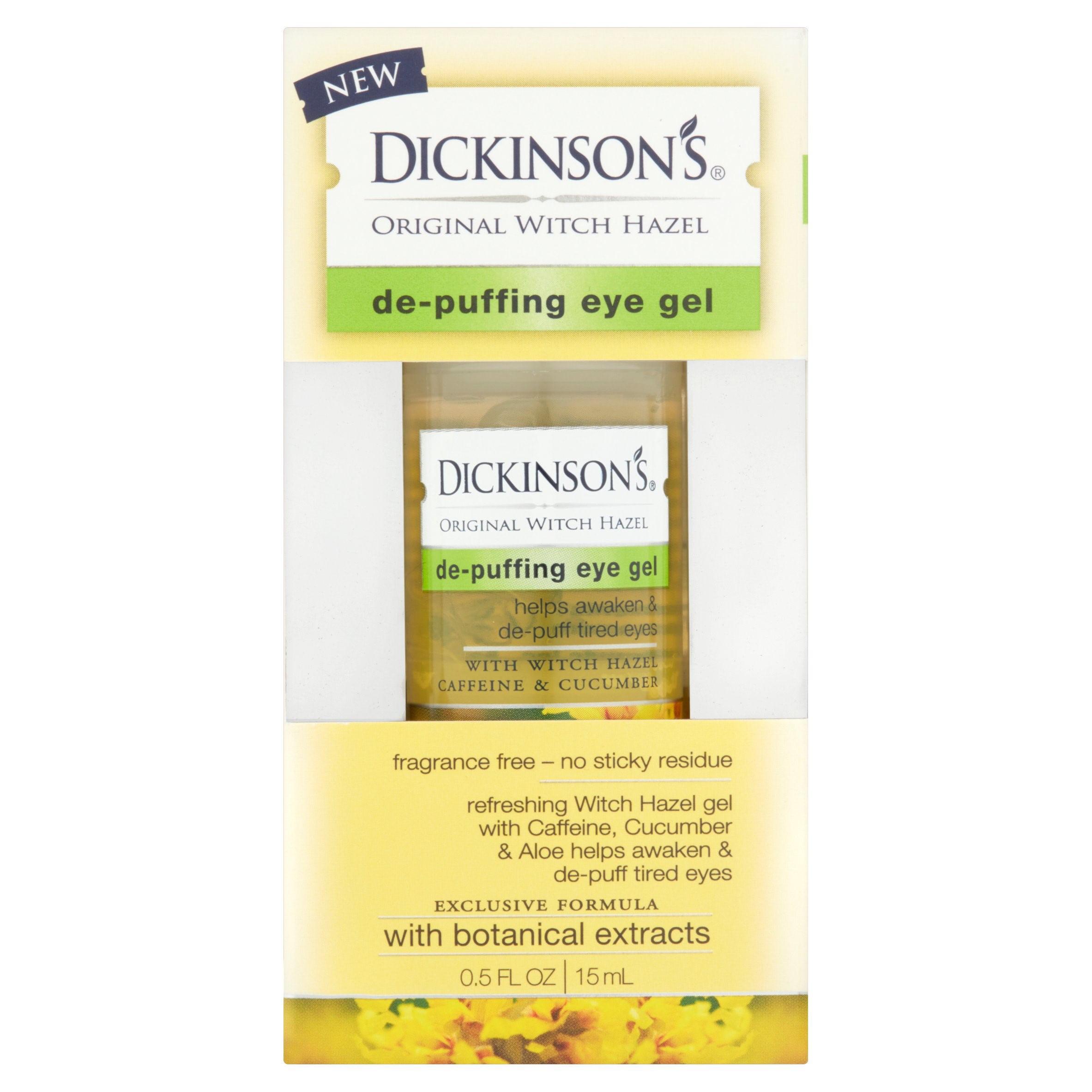 Dickinson's Original Witch Hazel De-Puffing Eye Gel, 0.5 fl oz