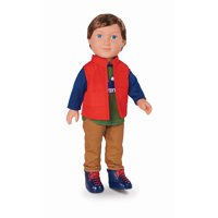 """My Life As 18"""" Poseable Outdoorsy Boy Doll, Brunette Hair"""
