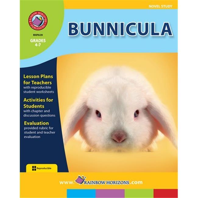Rainbow Horizons A39 Bunnicula - Novel Study - Grade 4 to 7
