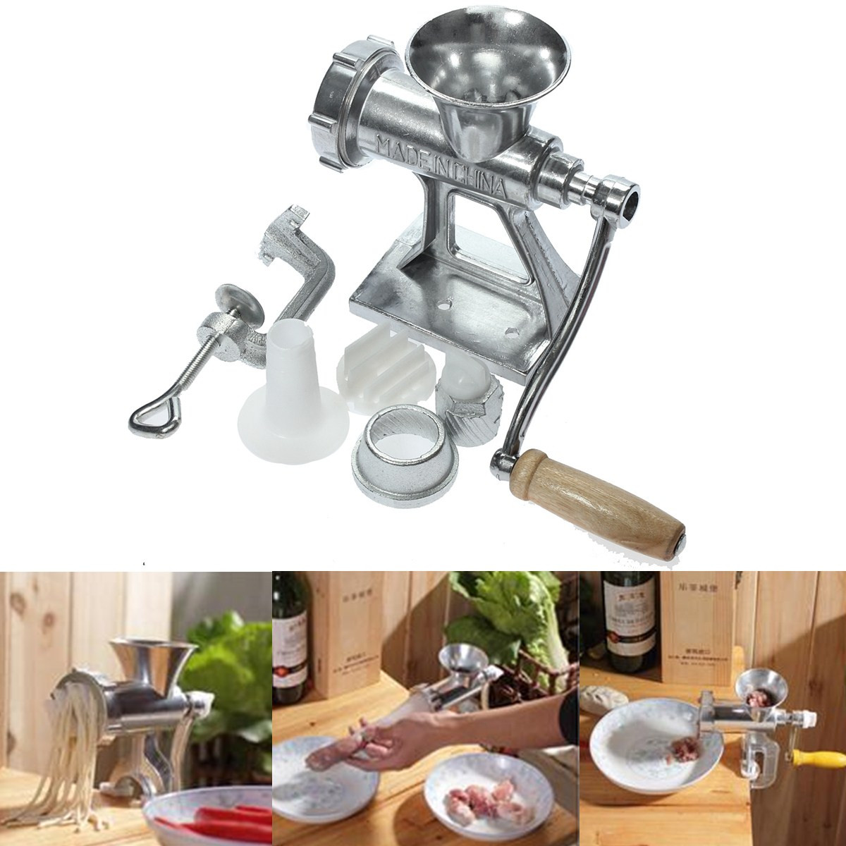 Meat Grinder For Sale >> Hot Sale Hand Operated Meat Grinder Cast Iron Heavy Duty Crank