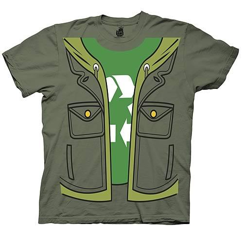 Big Bang Theory Leonard Trompe Loeil Costume T-Shirt