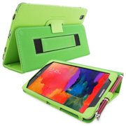 Snugg B00KTHSN76 Galaxy Tab PRO 8. 4 Case Cover and Flip Stand, Green Leather