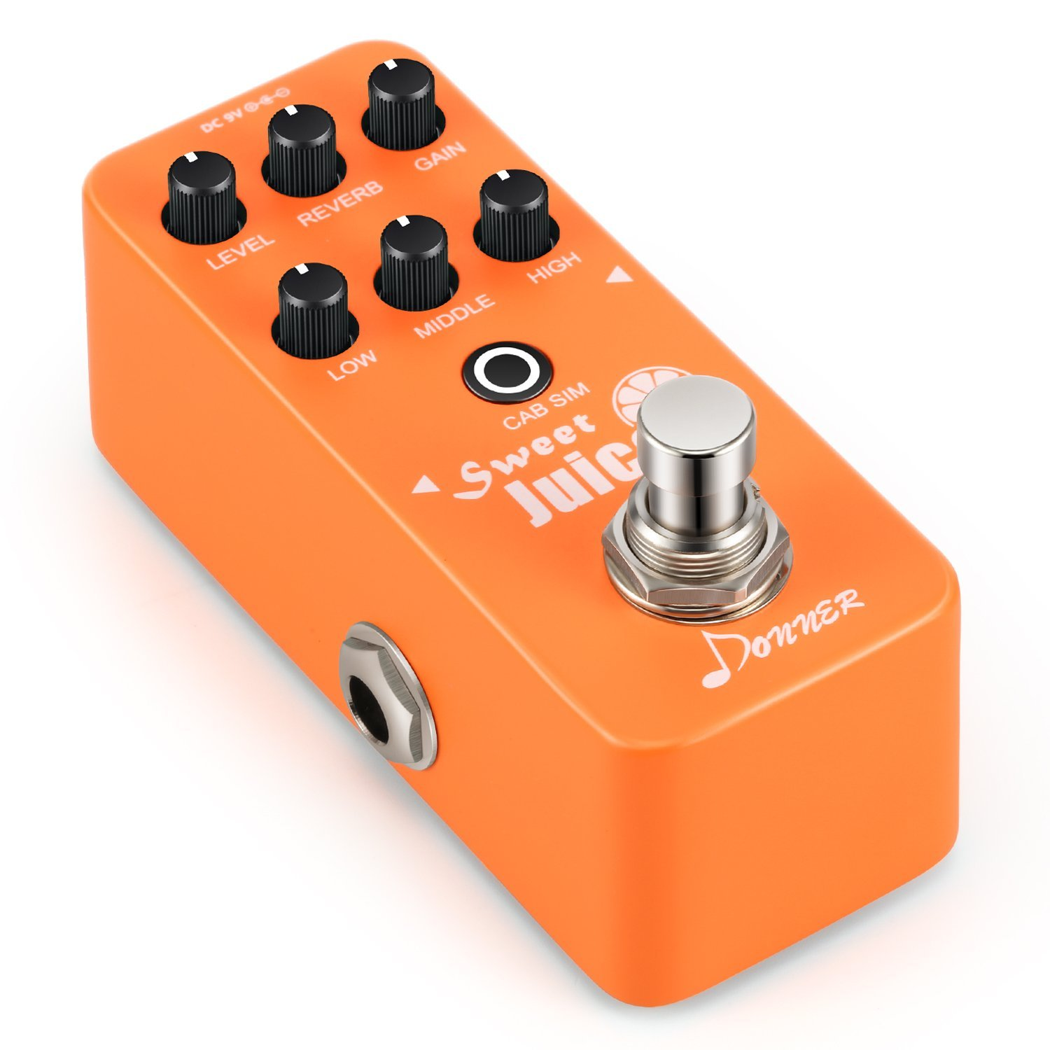 Donner Sweet Juice Mini Electric Guitar Preamp Effect Pedal by Donner