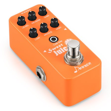 Preamp Pedal (Donner Sweet Juice Mini Electric Guitar Preamp Effect Pedal )