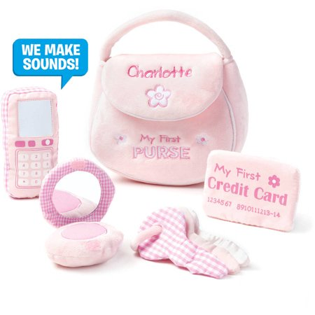 Toy Playset My First Purse Plush  9 5