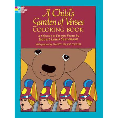 Child's Garden of Verses-Coloring Book: A Child's Garden of Verses Coloring Book (Paperback) (Games For A Child's Halloween Party)