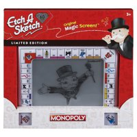 Etch A Sketch Classic, Monopoly Limited-Edition Drawing Toy with Magic Screen, for Ages 3 and Up