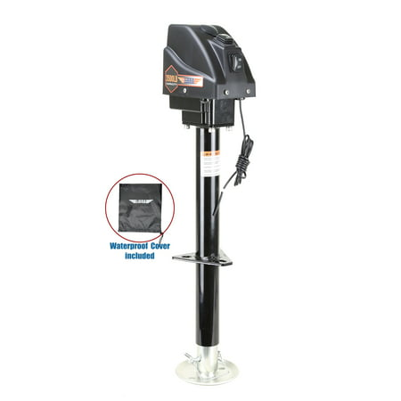 LIBRA 3500lbs Electric Power Tongue Jack for RV Trailer & Camper w/waterproof cover